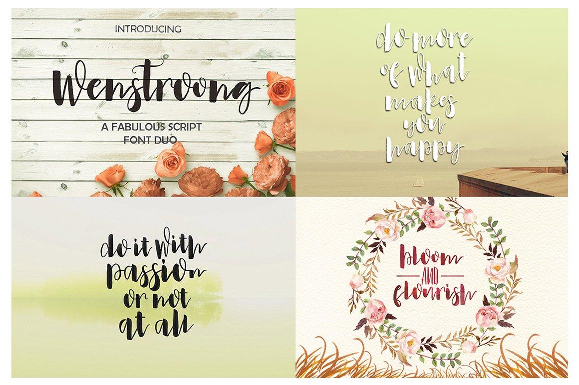 Handlettered Font Bundle example image 28