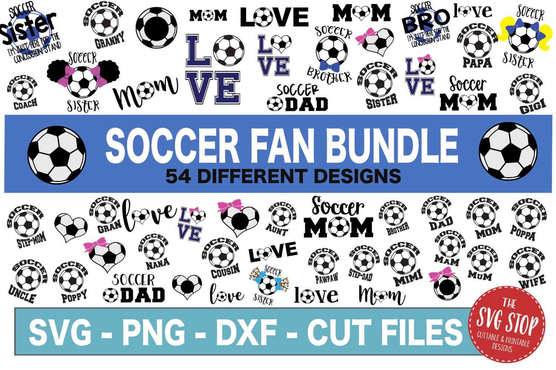 HUGE Bundle 500 SVG Designs Sports Themed example image 3