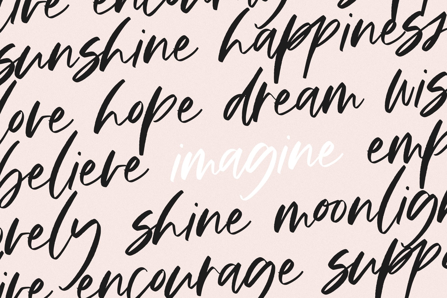 Happiness - A Handwritten Script Font example image 2