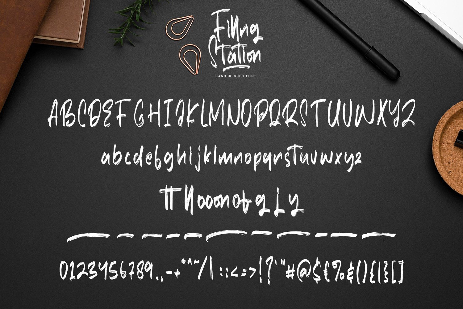 Filling Station - Brush Script Fonts example image 6