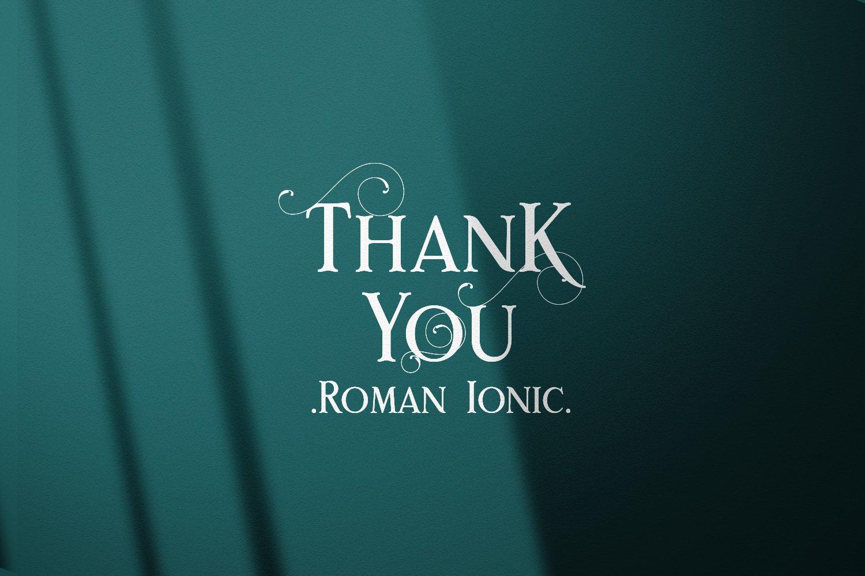 Rome Ionic example image 10