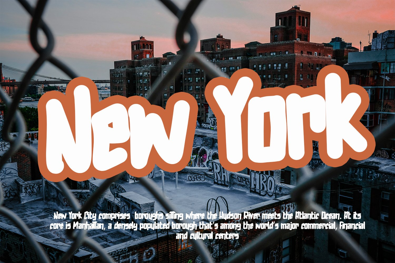 Urbanops - Urban Graffity Fonts example image 6