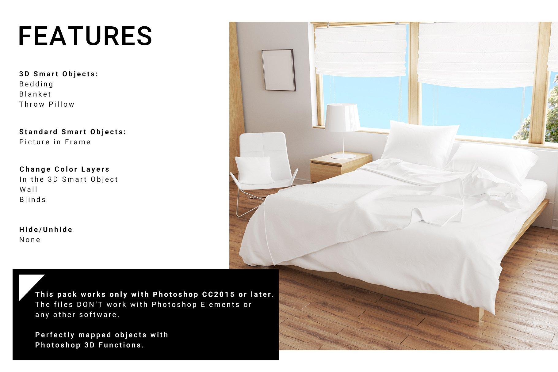Bedroom Set - Bedding & Throw Pillow example image 5