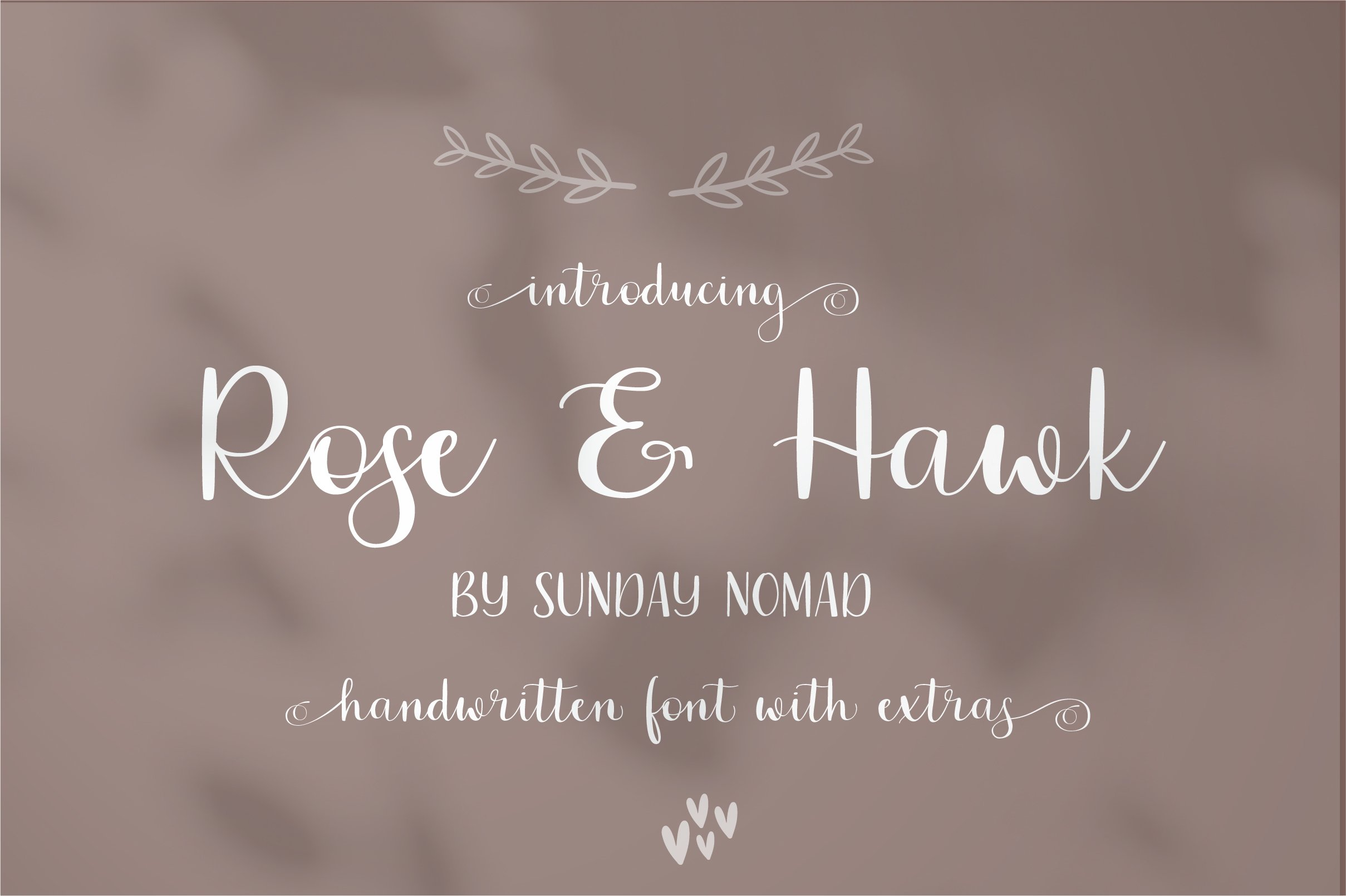 Rose & Hawk example image 1