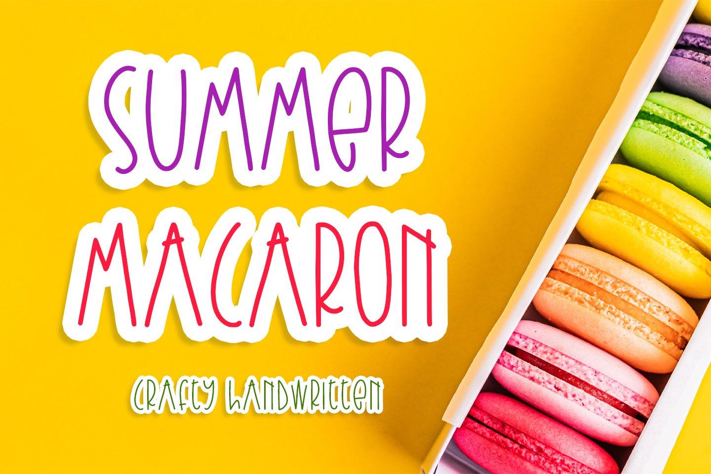 Summer Macaron example image 1
