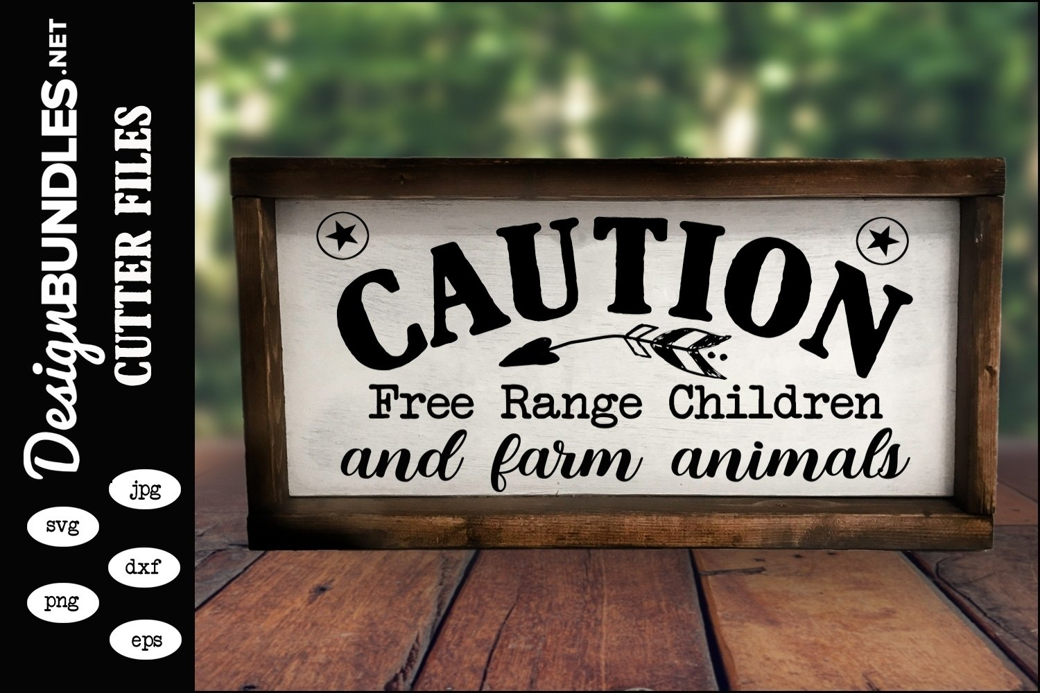 Free Range Children SVG example image 1