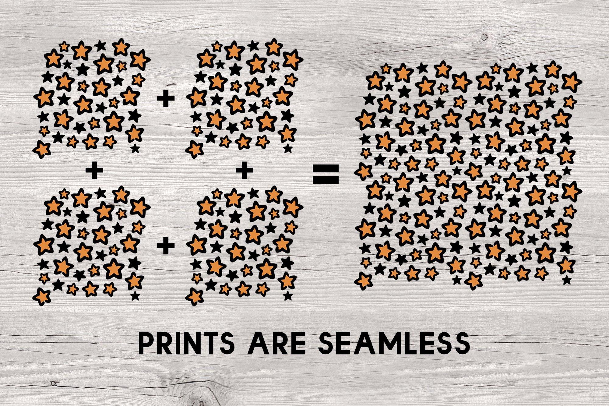 Star leopard print - svg png eps pdf example image 3