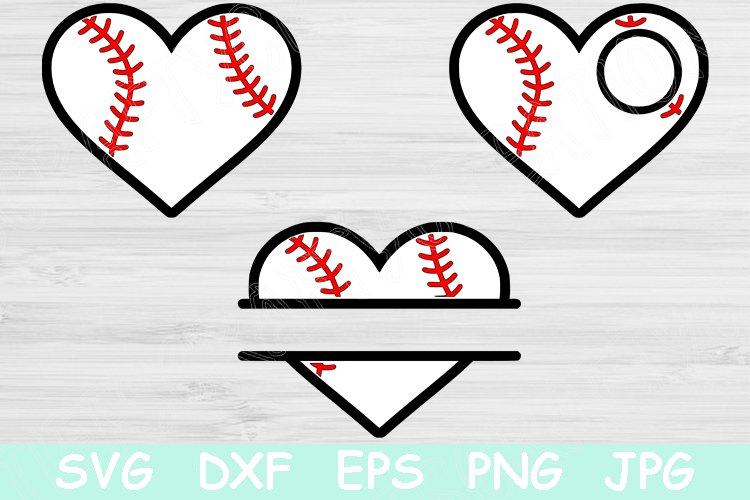 Baseball Heart Svg Baseball Svg Sports Svg Vector Cut File 536722 Cut Files Design Bundles