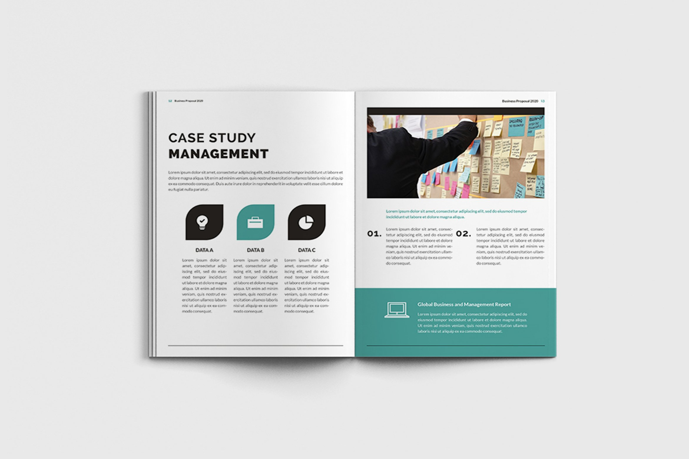 Mager - A4 Management Brochure Template example image 6