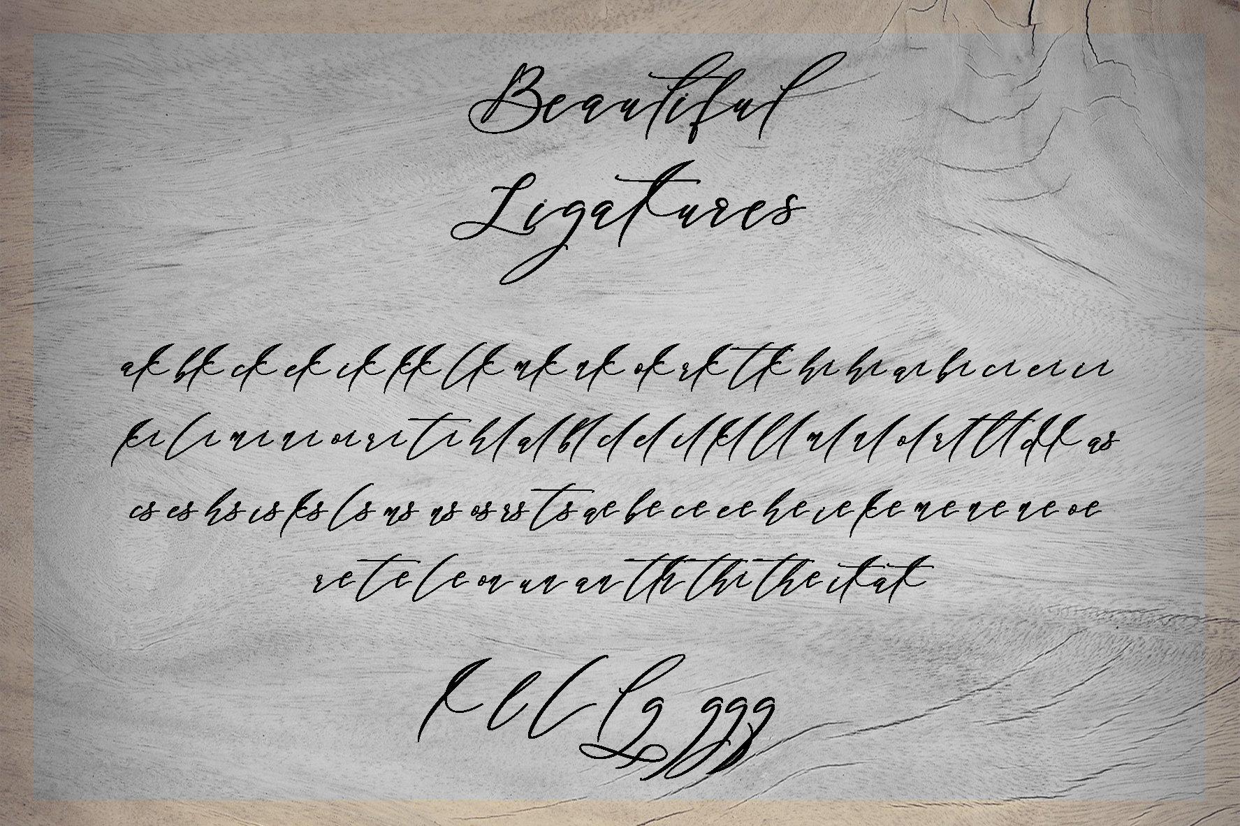Black Thise Script example image 6
