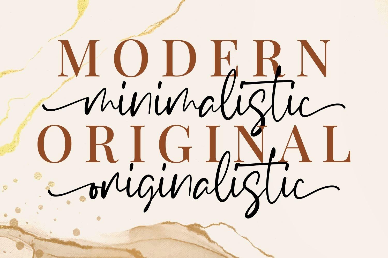 Winalissa - Modern Handwritten example image 4