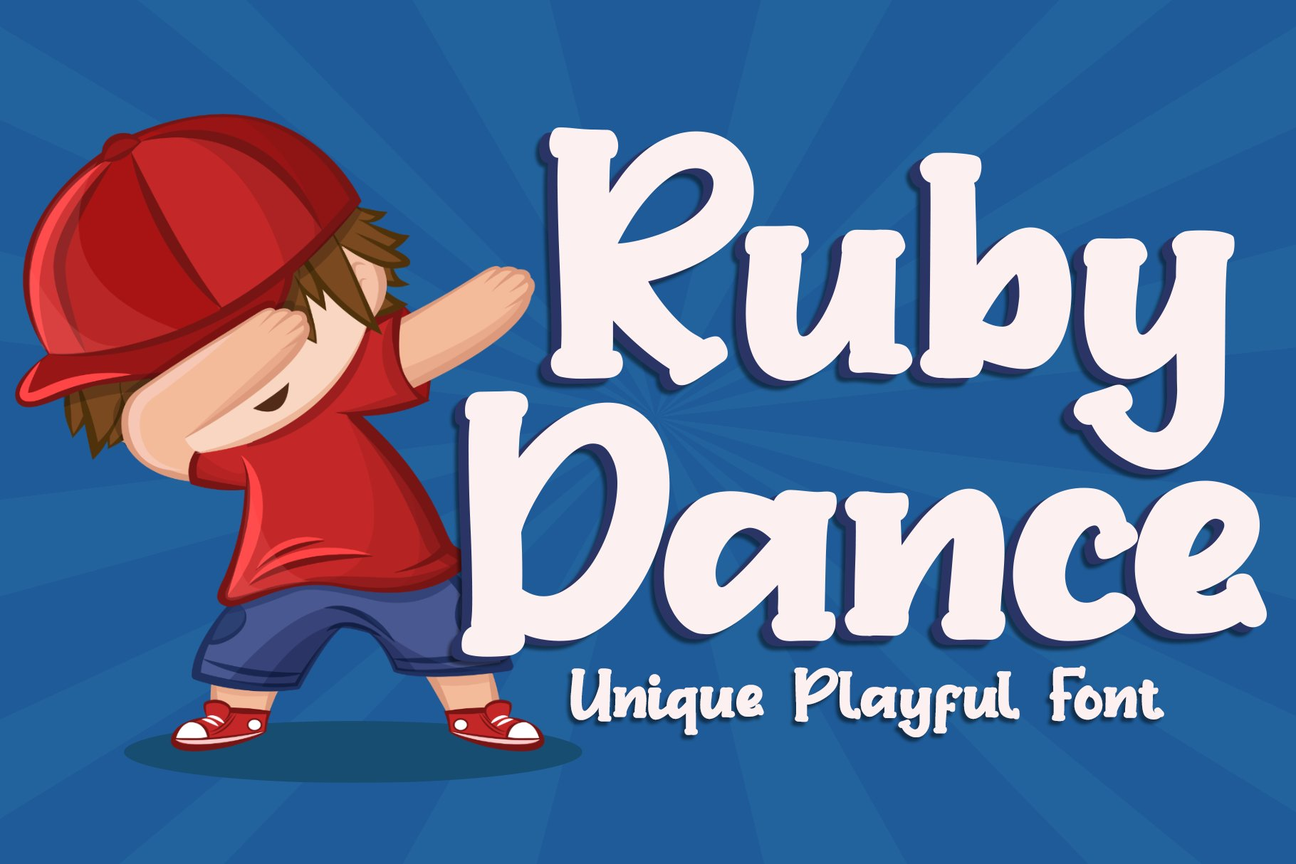 Ruby Dance - Playful Font example image 1