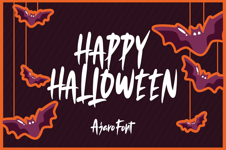 Ajaro - Sweet Halloween Font example image 2