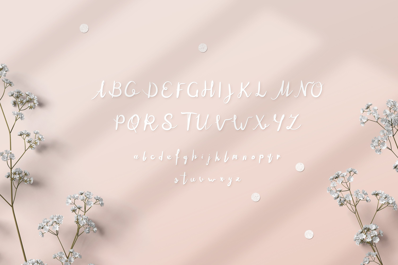 Milutki font example image 3