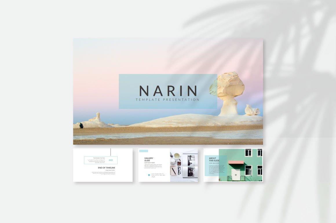 Narin Keynote Template example image 2