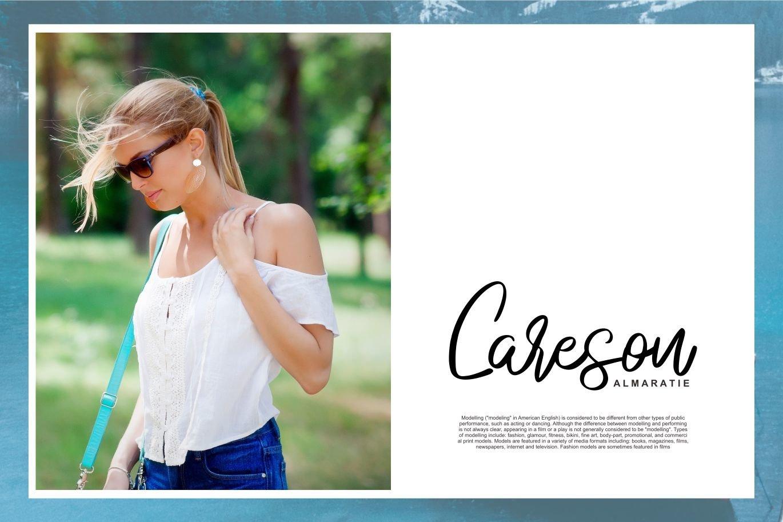 Anadego | Beauty Handwritten Script Font example image 4