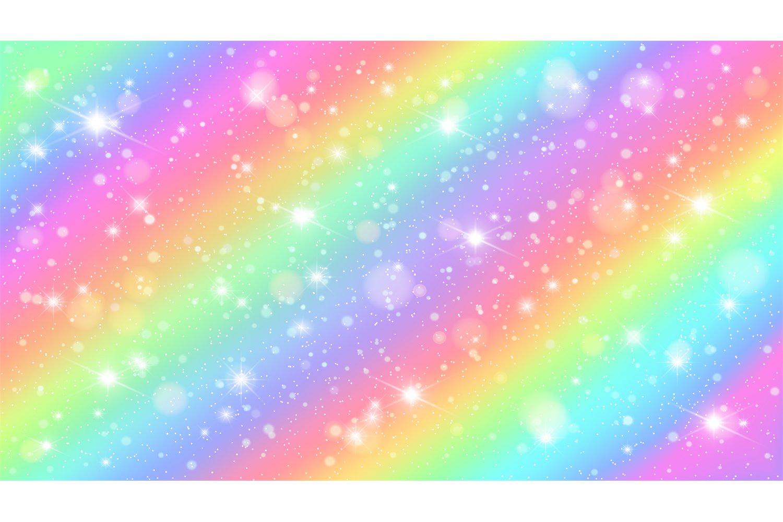 Glitters Rainbow Sky Shiny Rainbows Pastel Color Magic Fair 997841 Backgrounds Design Bundles