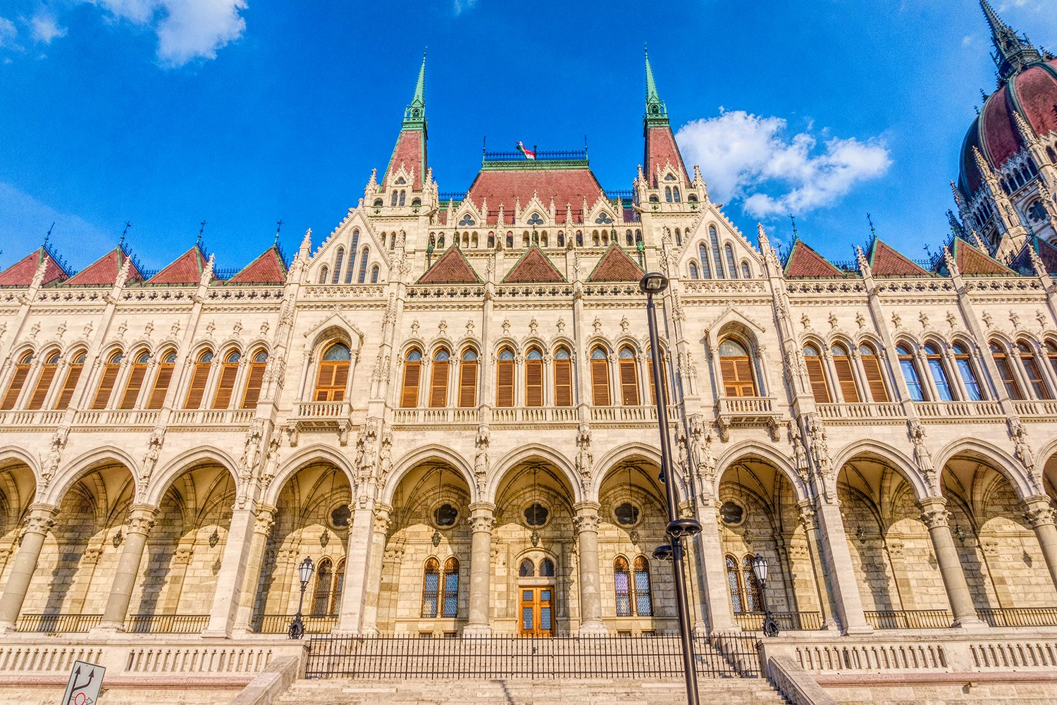 Gothic old building of the Hungarian parliament, Budapest example image 1