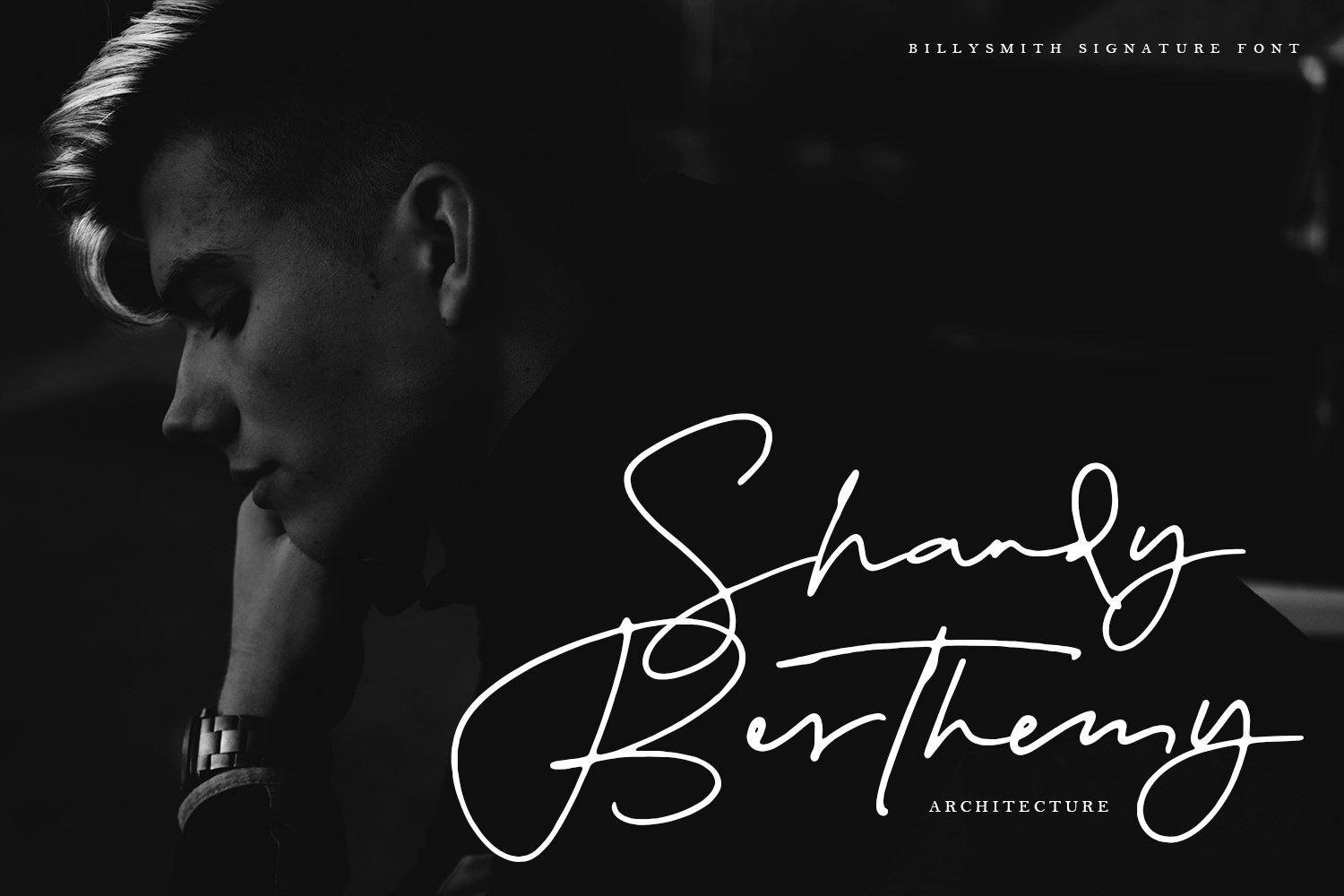 Billy Smith - Signature Font example image 2