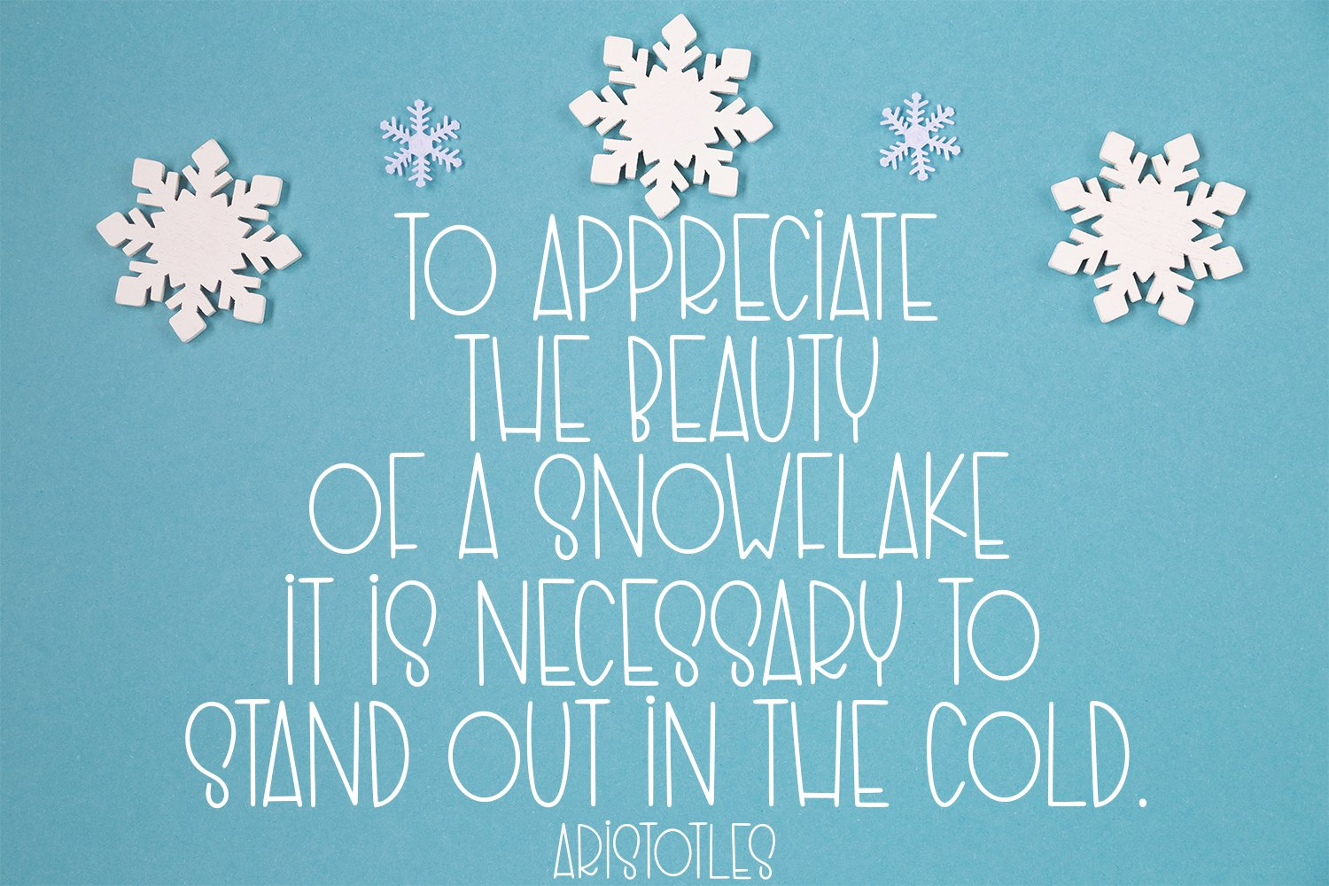 Stay Warm - A Quirky Hand-Lettered Font example image 3