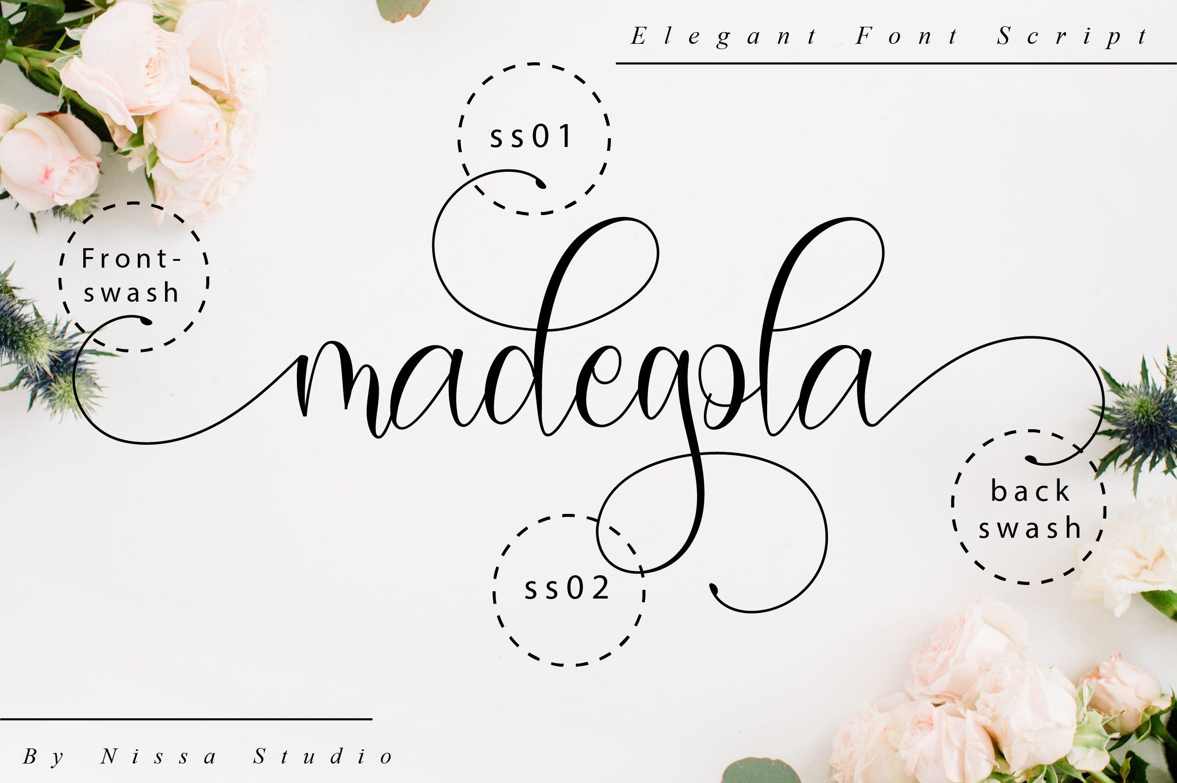 Madegola Script example image 10