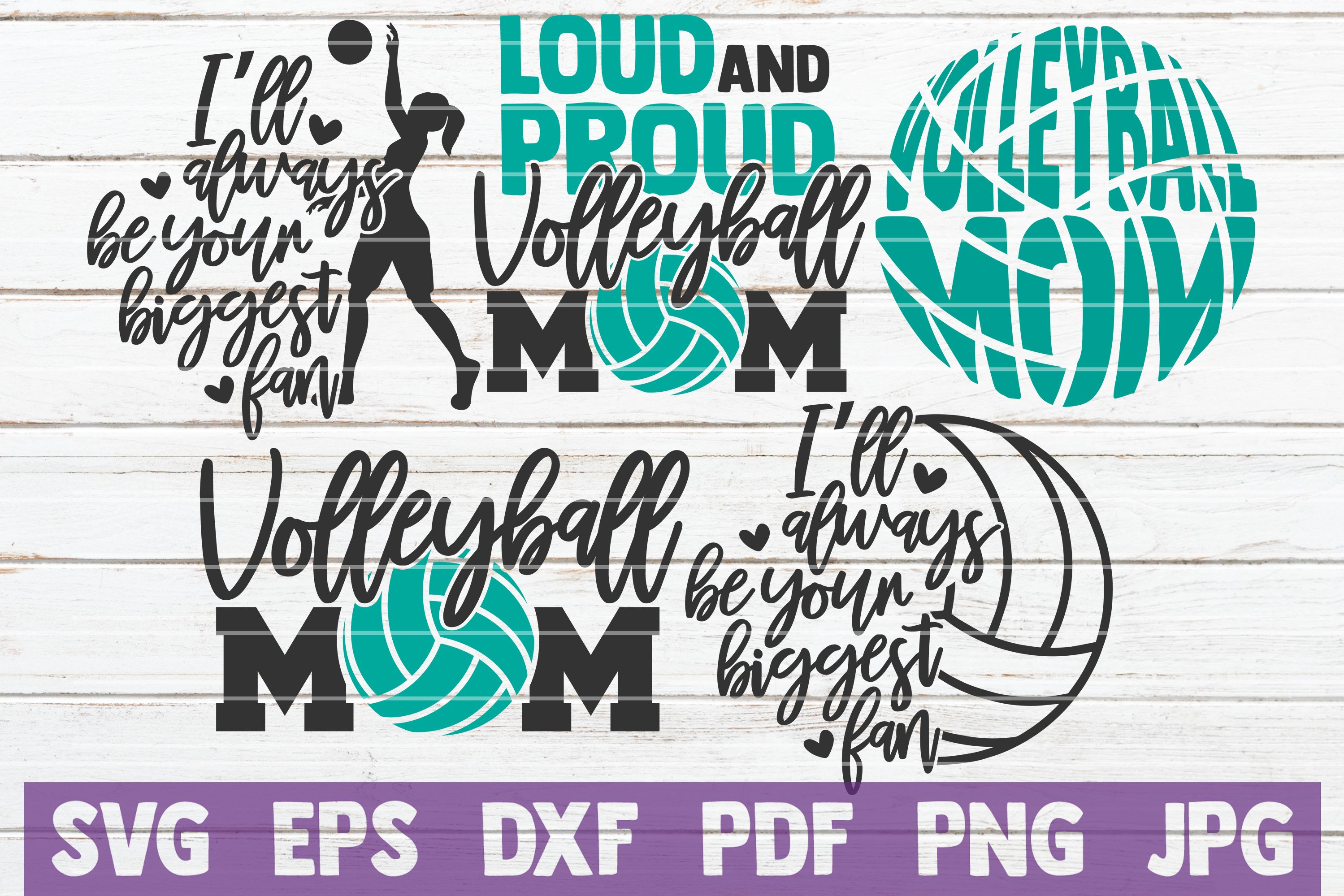 5 Volleyball Mom Svg Cut Files Volleyball Svg Bundle 219237 Cut Files Design Bundles