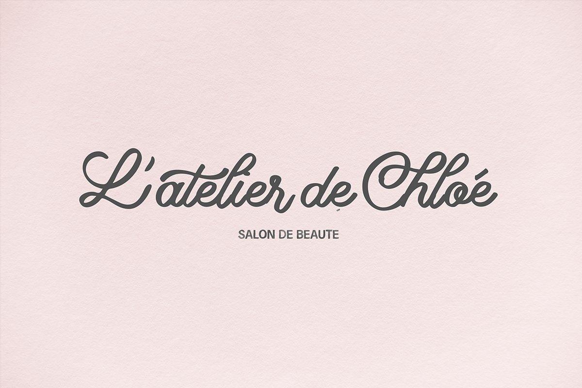 Lettering Delight Script Font example image 6