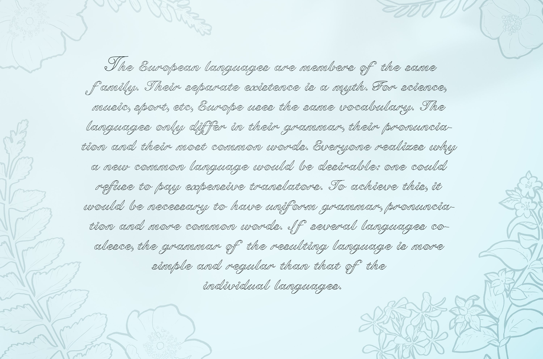 Kawka font example image 2