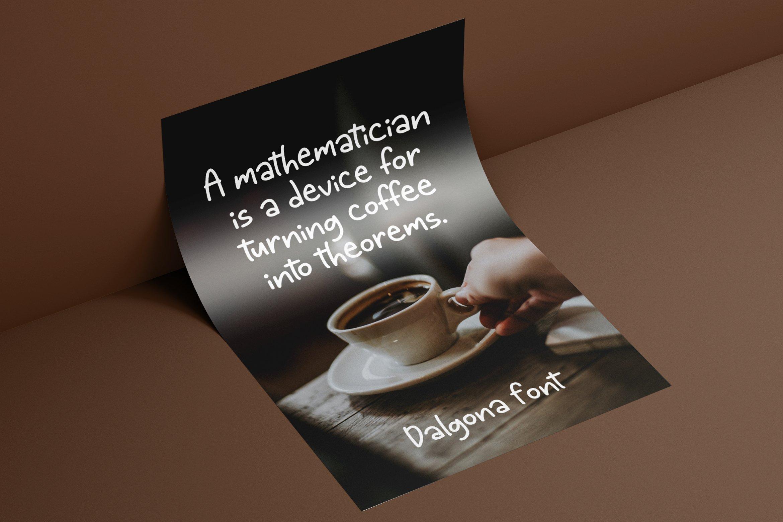 Dalgona - Handlettering Font example image 6