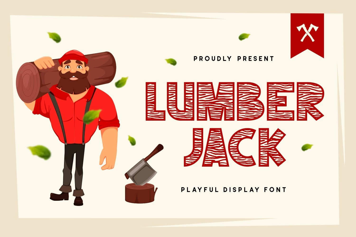 Lumberjack - Playful Display Font example image 1