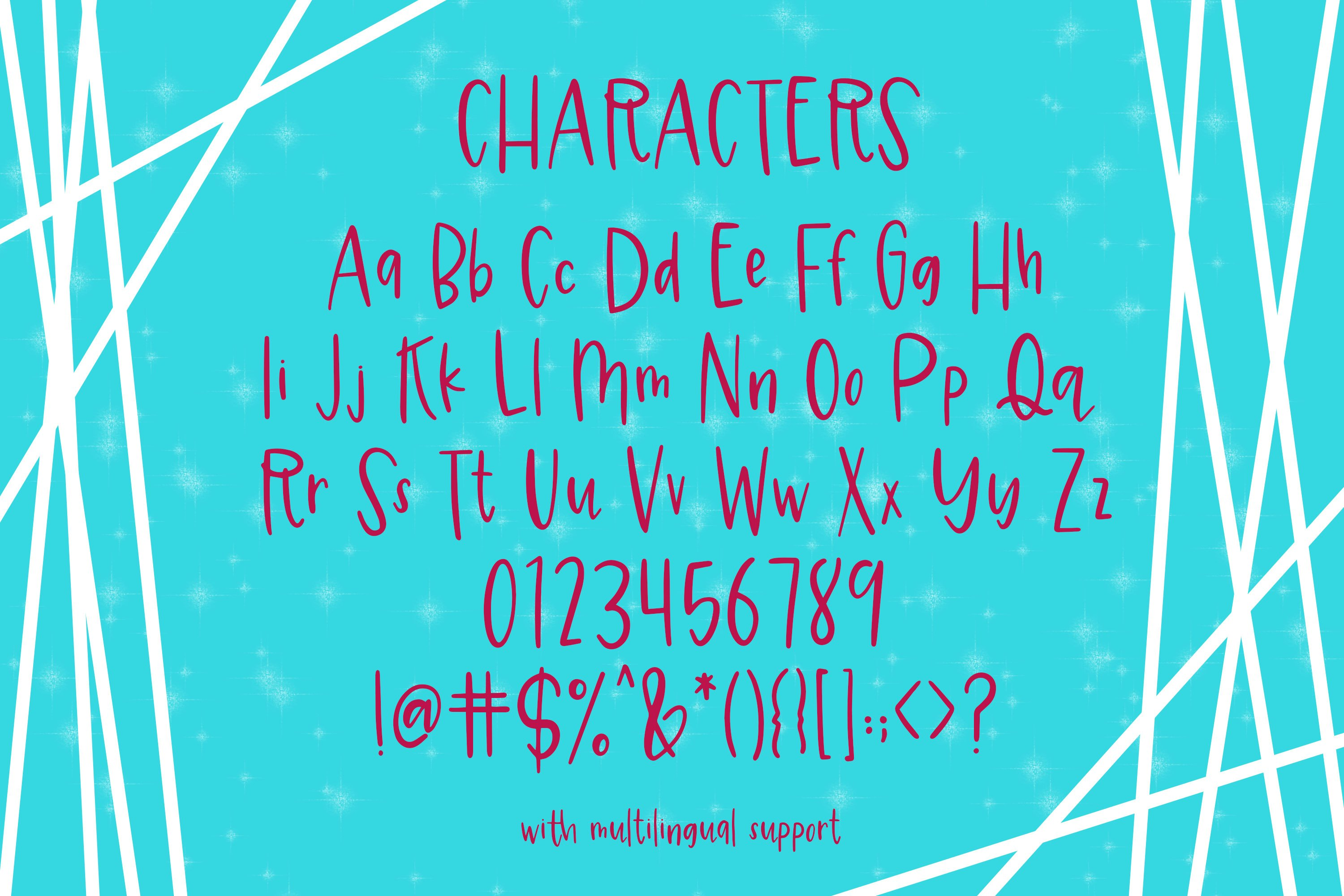 Magical Sprinkles Font example image 4