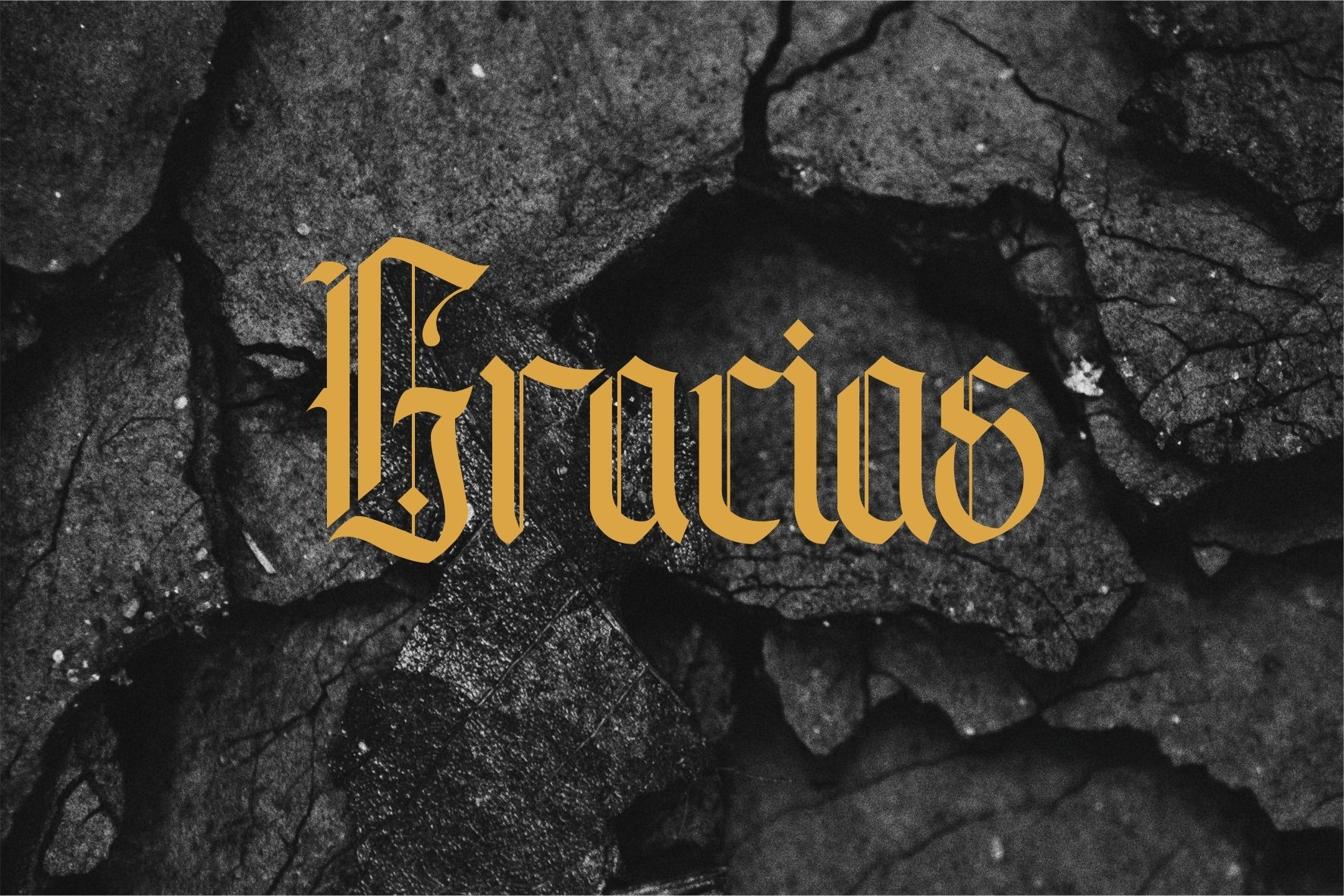 Andalusia - The Blackletter Typeface example image 8