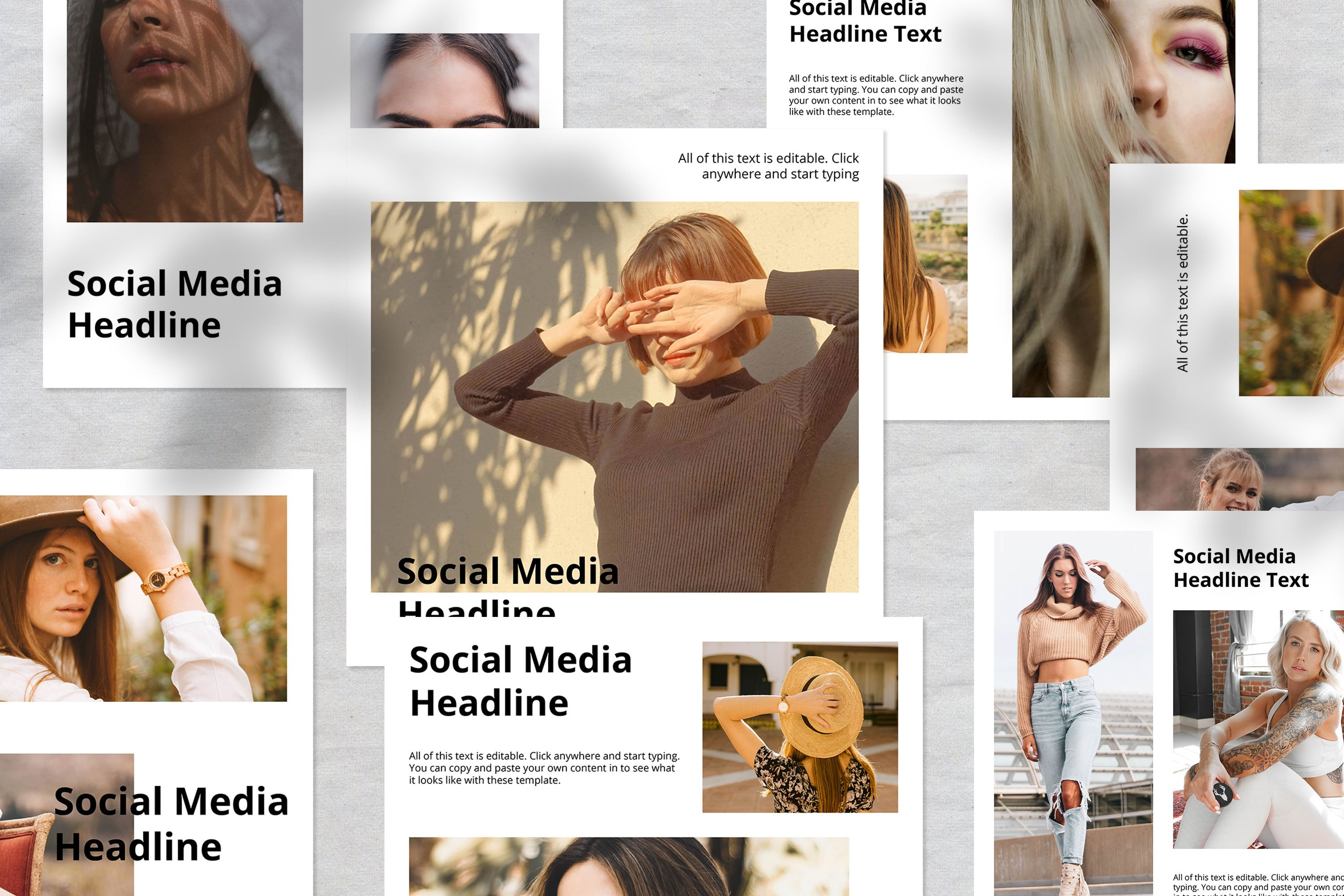 Fashion Instagram Social Media Template example image 2