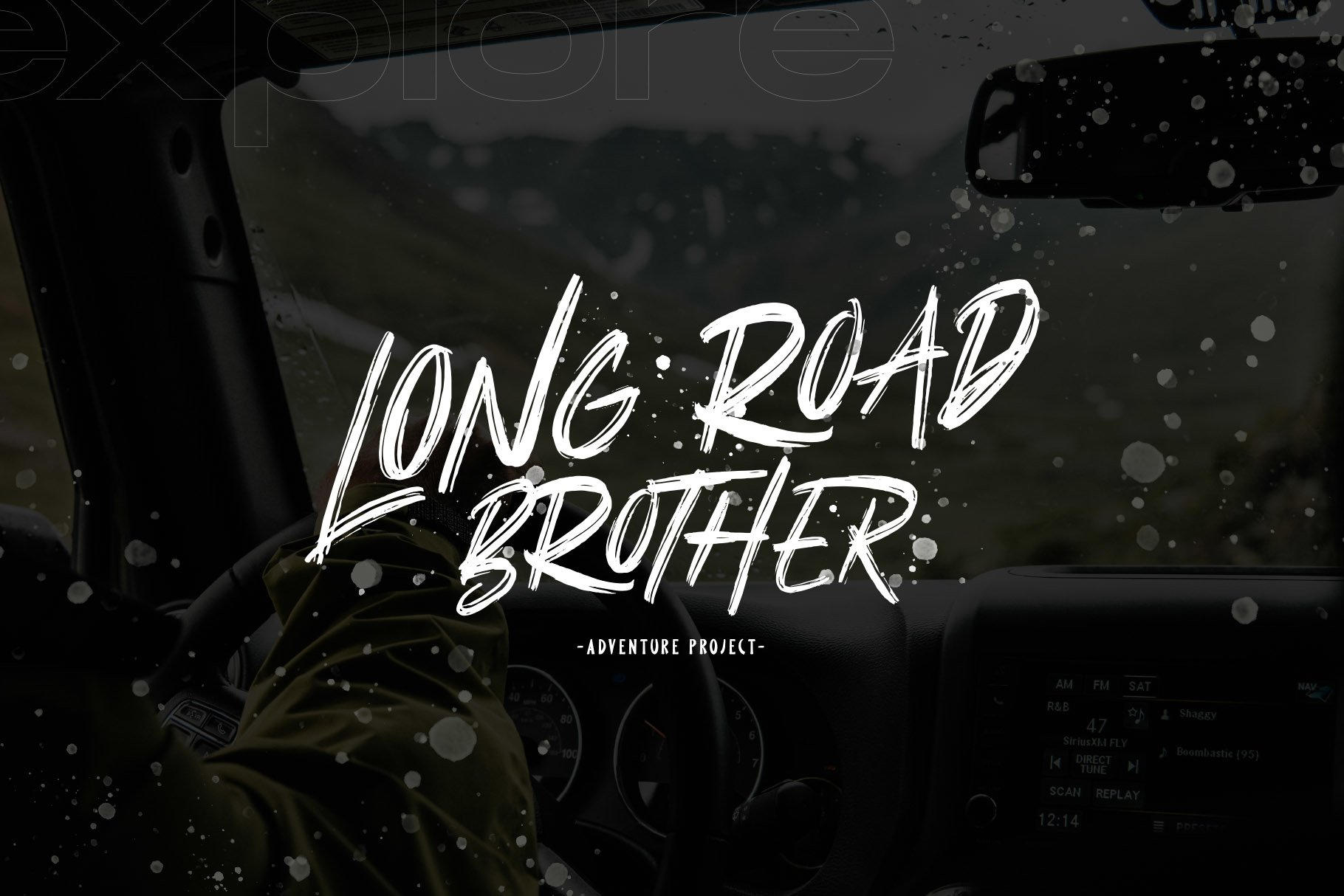 Better Rolling - Brush Font example image 5