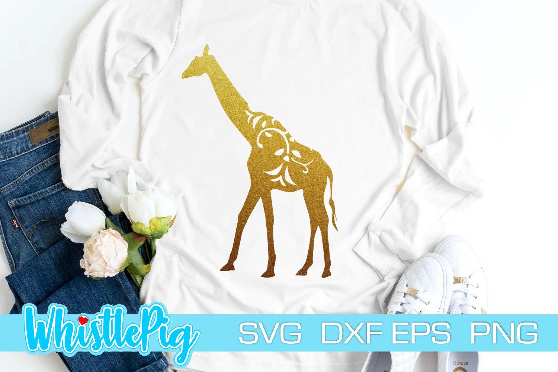 Download Giraffe Svg Animal Silhouettes Svg Floral Animal Svg 1175220 Cut Files Design Bundles