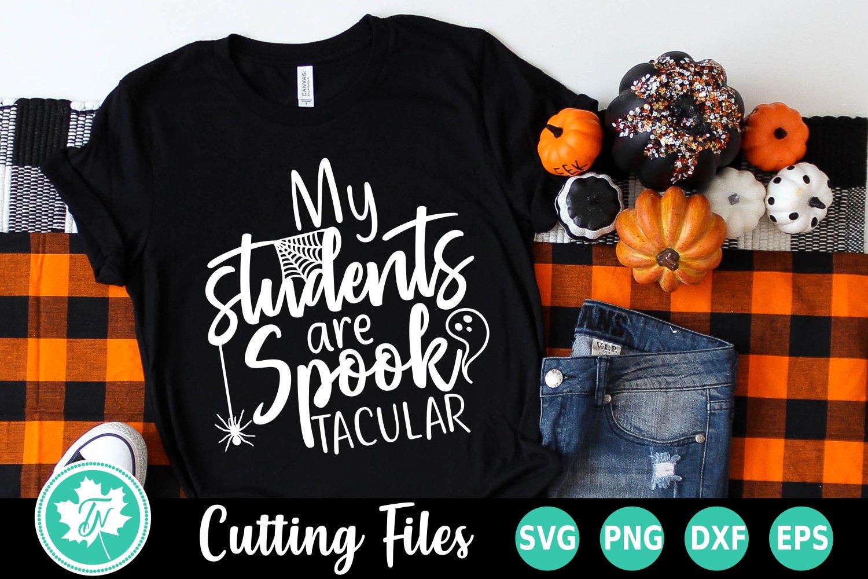 Teacher svg Halloween Funny Halloween quote svg Punctuation Saves Lives svg Halloween Teacher Svg Teacher SVG File Lets Eat Kids svg