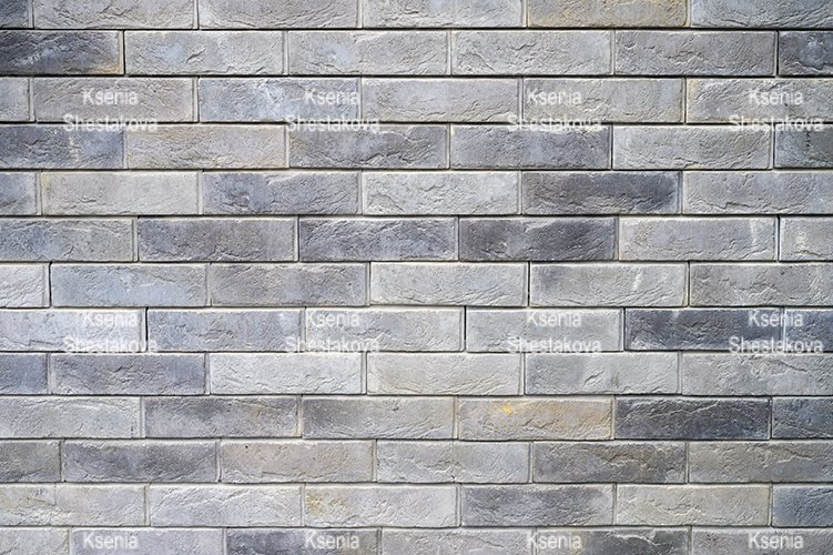pattern of decorative gray stone wall surface. background example image 1