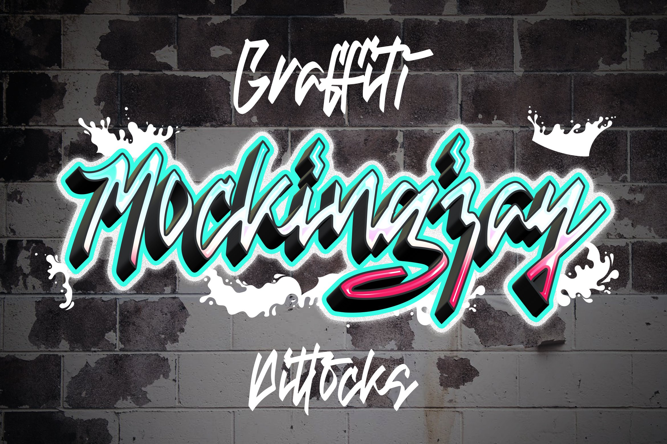 Dittocks - Graffiti Fonts example image 5