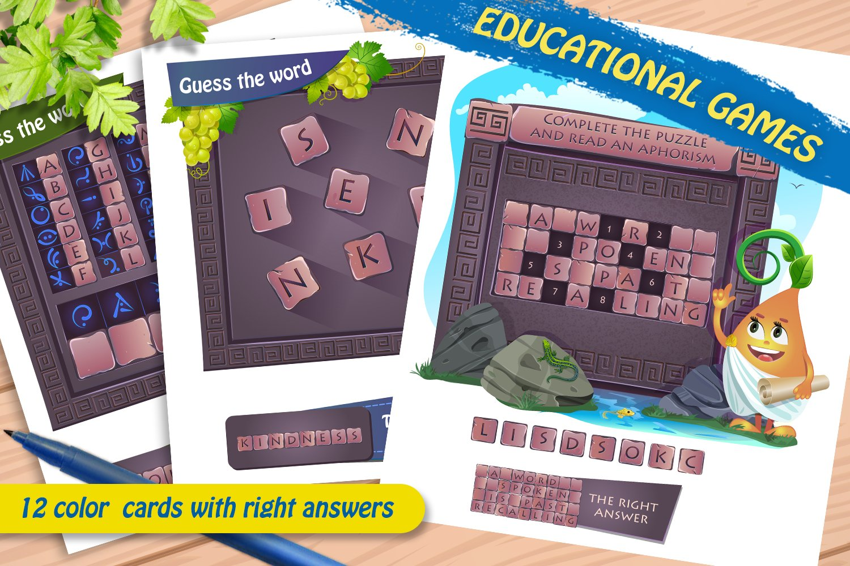 Download Educational Games Brainteasers 484981 Printables Design Bundles