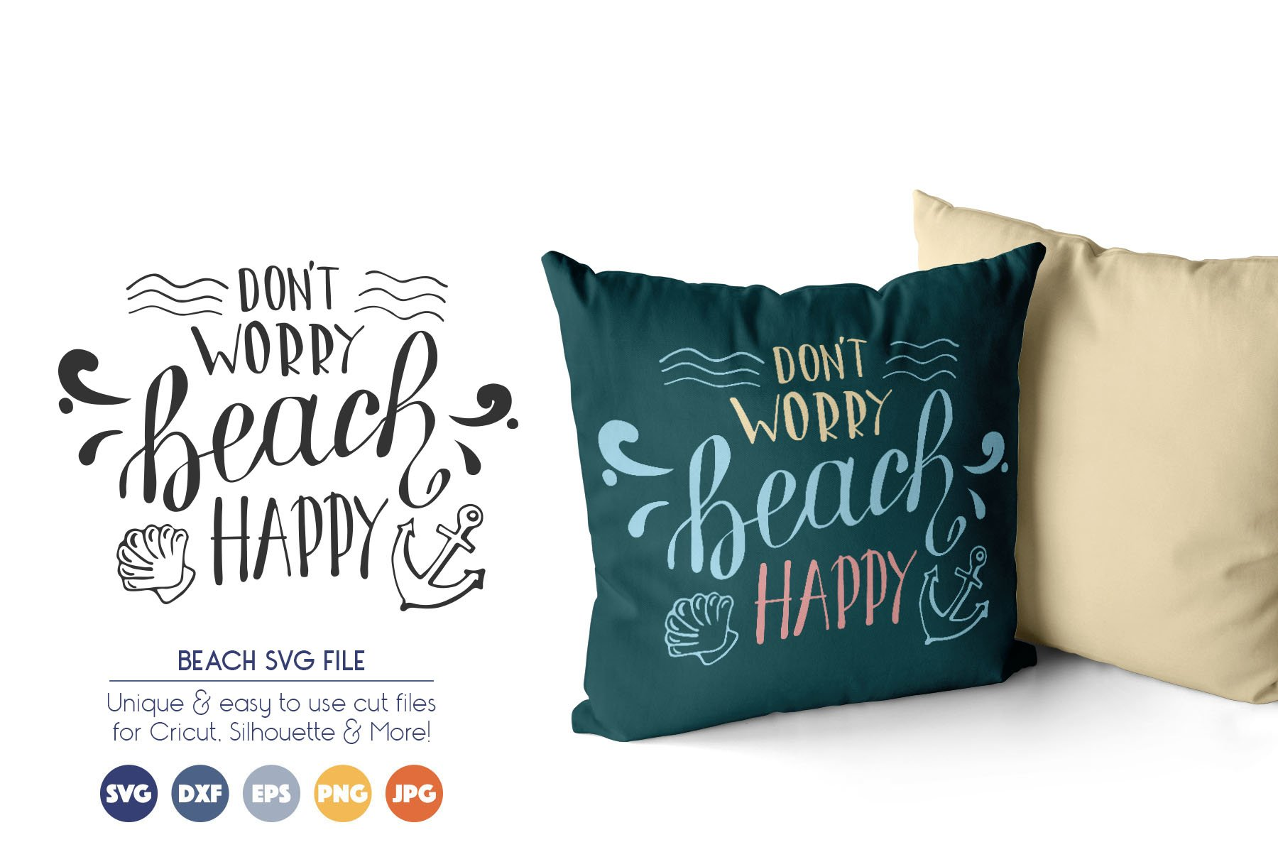 Beach SVG Cut Files example image 1