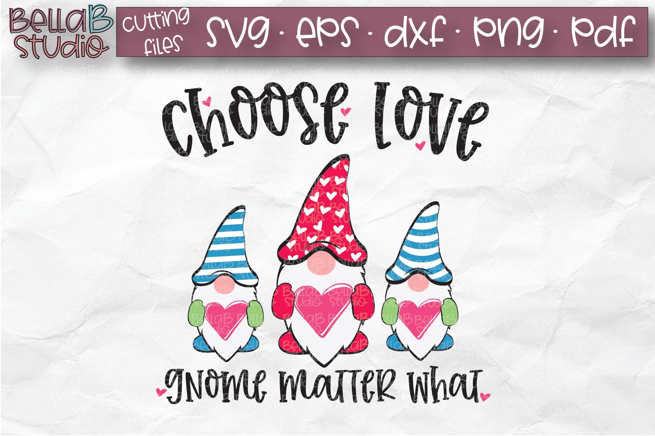 Download Valentine Gnomes SVG, Choose Love Gnome Matter What SVG ...