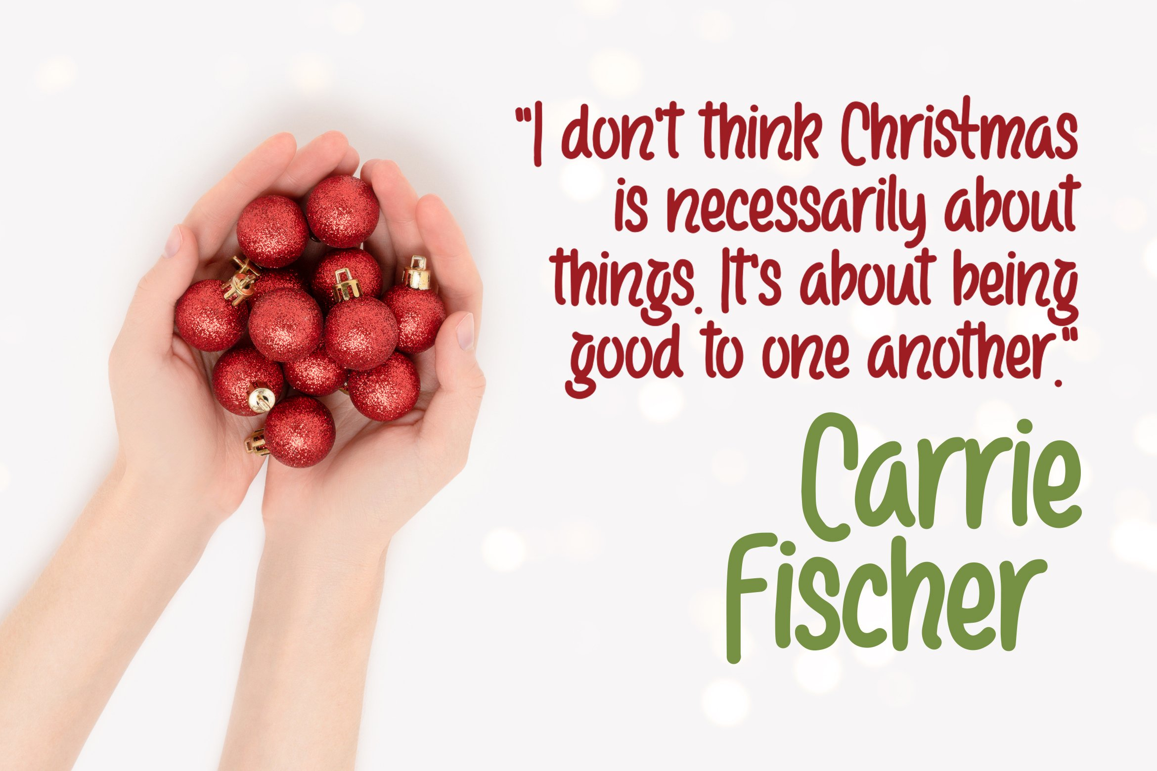 Cangtiff - fancy Chrismas Font example image 2