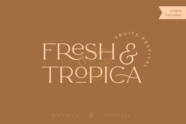 Royale Luxurious Typeface example image 5
