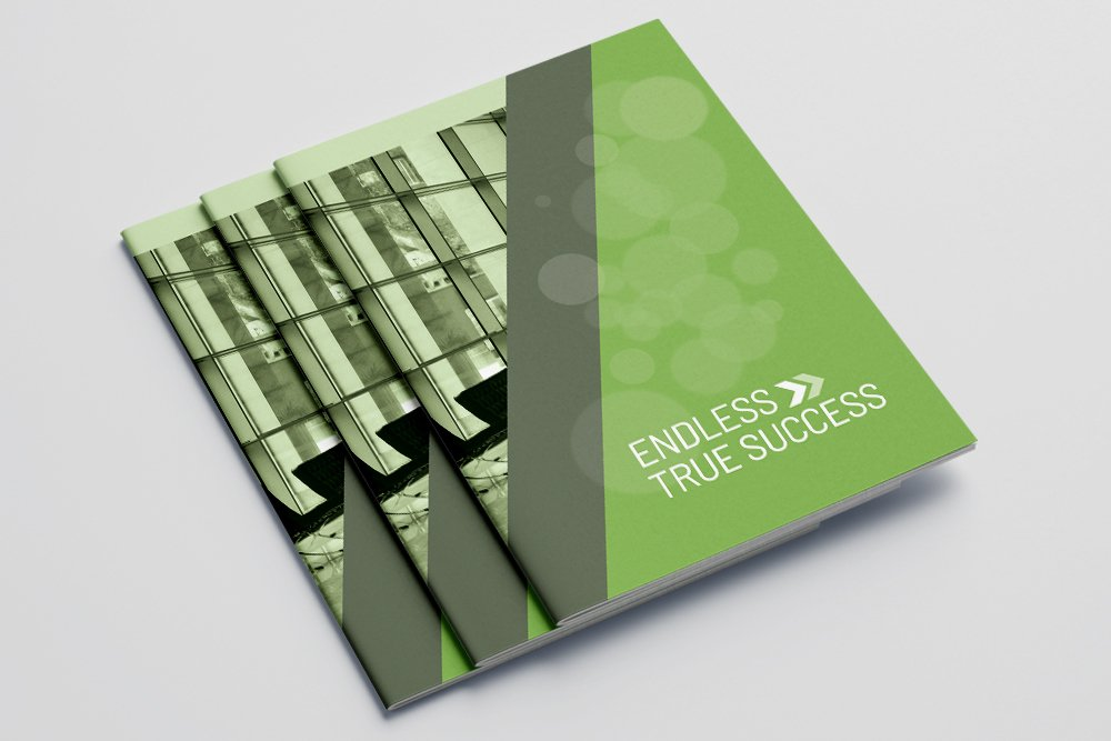 Business Annual Report Brochure 16 Pages example image 1