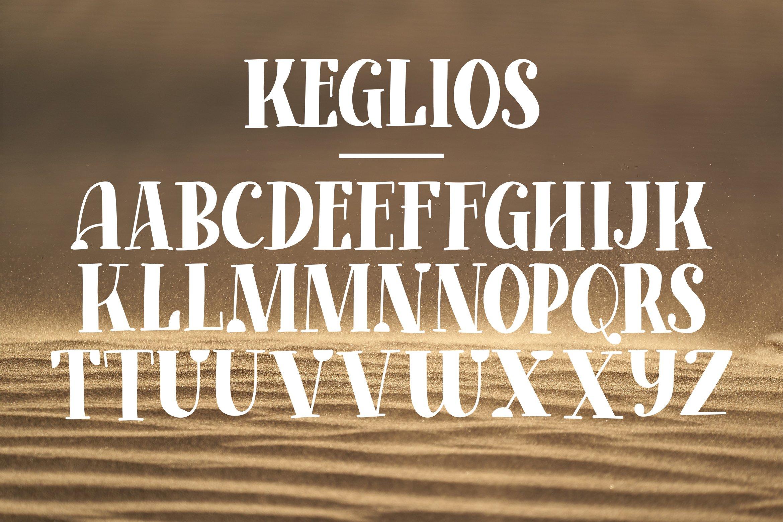 Keglios - Handdrawn Serif Fonts example image 4