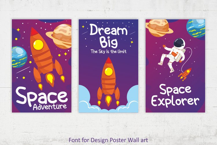 Space kids example image 7