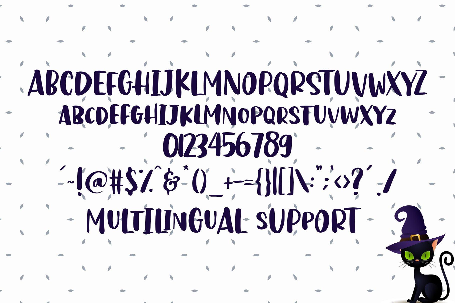Hello Catto - Fun Rough Brush Font example image 6