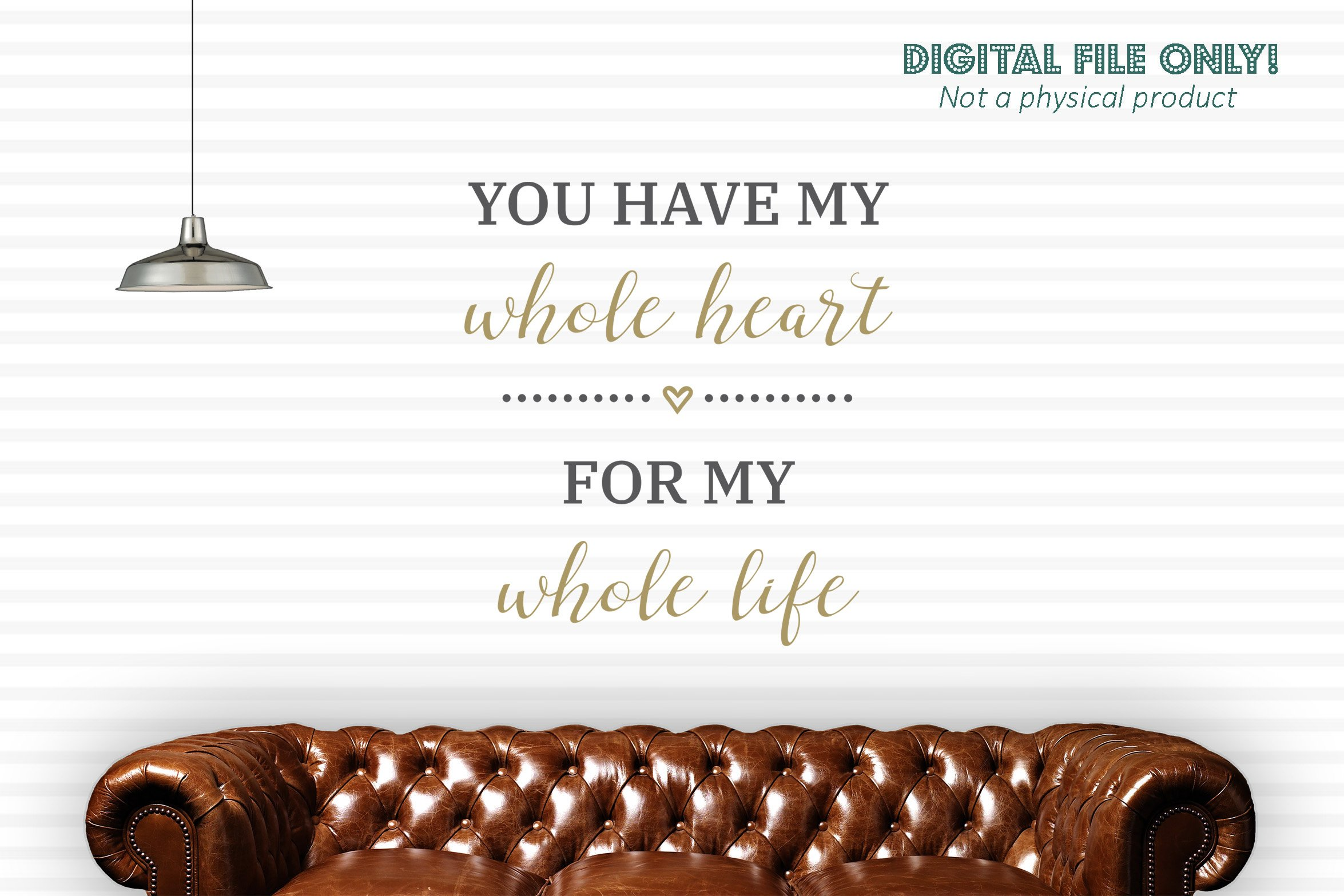 You Have My Whole Heart For My Whole Life Svg Cut File 193758 Cut Files Design Bundles