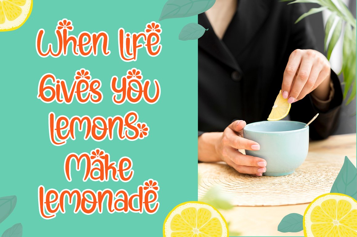 Lemon Rolls - A Cute and Quirky Font example image 2