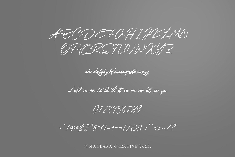 Betsy Layne - Handwritten Signature Handmade Font example image 2